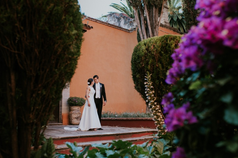 MARIANA & JC // Lushy greenery and rustic antique Hacienda and Museum in Gto, Mex.